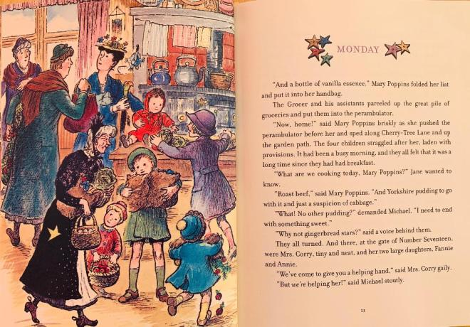 Mary Poppins Monday colour story