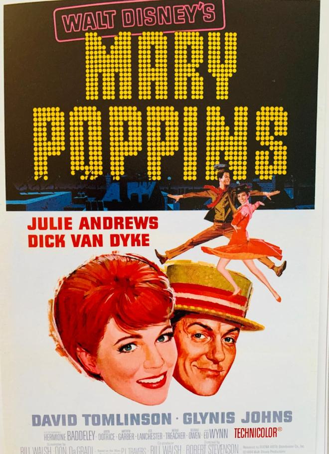 Mary Poppins and Bert Movie Poster