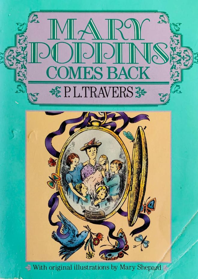 Mary Poppins Comes Back cover page