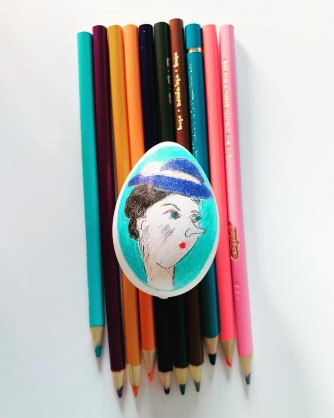 Mary Poppins Easter Egg