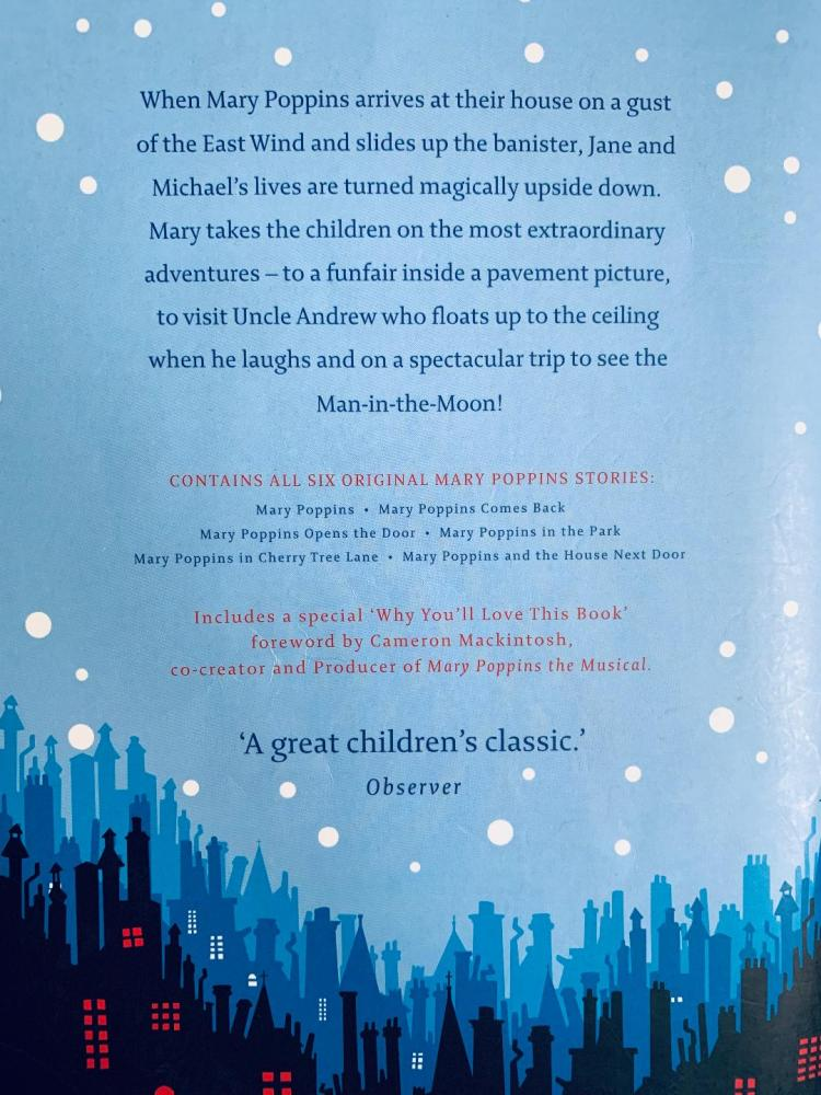 The Complete Mary Poppins back cover